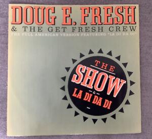 """12"""" DOUG E. FRESH & THE GET FRESH CREW THE SHOW 1985."""