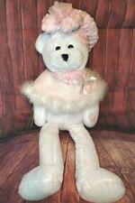 "Rare Chantilly Lane 22"" Hope Pink Breast Cancer Teddy Bear Sings 2000"
