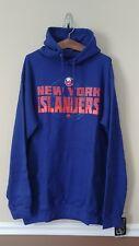New York Islanders Mens Hoodie XLT Blue Sweatshirt Tall Official NHL Majestic