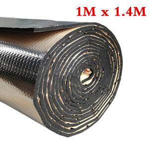 Alumium Car Insulation Sound Deadening Heat Shield Thermal Noise Trunk Floor Mat