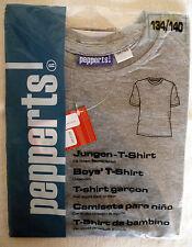 Jungen-T-Shirt, grau, Gr. 122/128, neu