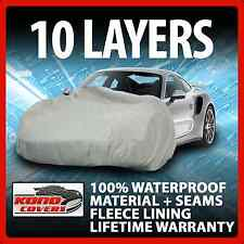 10 Layer Car Cover Indoor Outdoor Waterproof Breathable Layers Fleece Lining 301