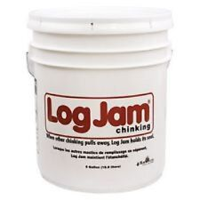 Sashco Log Jam Log Home Chinking 5 Gallon Pail - Gray