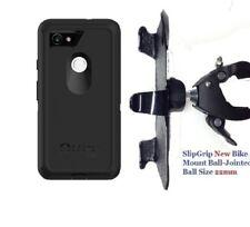 "SlipGrip 1.5"" Bike Holder For Pixel 3 XL Phone Using Otterbox Defender Case"