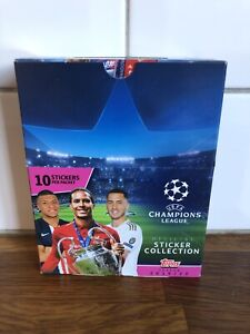 TOPPS UEFA 2019/20 CHAMPIONS LEAGUE 20 PACK BOX 200 Stickers - HAALAND ROOKIE
