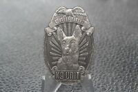 Law Dog K9 Unit Police Challenge Coin