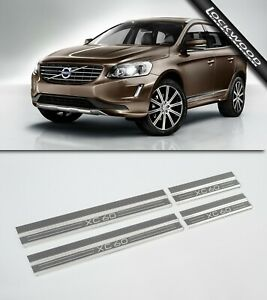 Volvo XC60 4 Door Stainless Sill Protectors / Kick Plates