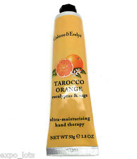 Crabtree & Evelyn TAROCCO ORANGE Ultra Moisturizing Hand Therapy 1.8 oz