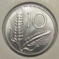 Italy 10 lire 1992 AUNC