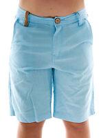 Protest Short kurze Hose Eager blau Gürtelschlaufen verstellbar Zipper