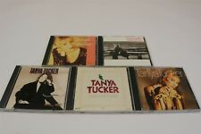 TANYA TUCKER - Lot of 5 CDs - Greatest Hits/Soon/Fire To Fire/Tennessee Woman