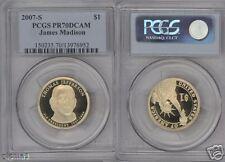 2007-S $1 Thomas Jefferson PR70DCAM PCGS ERROR