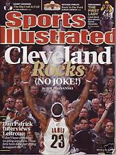 Sports Illustrated 2009 Cleveland Cavaliers LeBron James No Label NR/Mint