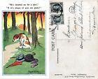 illustrateur Donald McGill (Chien, Dog) 1924 Griffe de Facteur [730] Belgique