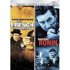 The French Connection & Ronin (DVD, 2007, 2-Disc) Hackman & De Niro [BRAND NEW]