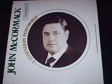 John McCormack-A Legendary Performer-LP-Mono-Booklet