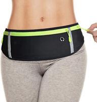 Large Pocket, Money Belt/Phone Holder/Running Waist Pack for Men Women Runners