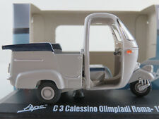 ITALERI 76813 Piaggio Ape C3 Calessino Olimpiadi Roma (1960) in grau1:32 NEU/OVP