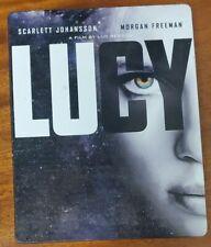Lucy (Steelbook; Blu-Ray + DVD; NO DIGITAL)