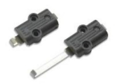 Peco ST-273 Setrack Twin Power Connecting Clips (One Pair) OO/HO Guage