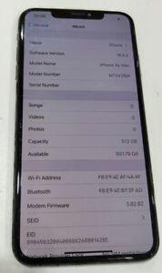 Apple iPhone XS Max - 512GB - Space Grey (Unlocked)