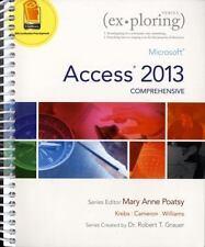 EXPLORING SERIES ACCESS 2013 INTRO - Pearson - Poatsy, Krebs/Cameron, Grauer