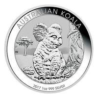 2017-P Australia $1 1 oz. Silver Koala BU (Original Mint Cap) SKU45136