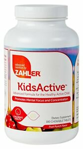 B-Complex Childrens 180 Chewable Vitamin for Kids Focus And Attention ~ Zhaler