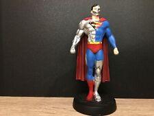 CYBORG SUPERMAN - LOOSE  - FIGURINE DC CLASSIC  -  CAST IN LEAD - EAGLEMOSS