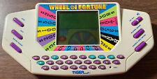 New ListingVintage Wheel Of Fortune Handheld Game Tiger Electronics 1995 Video Game