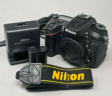 Nikon D7100 24.1 MP Digital SLR Camera - Black (Body Only) - 10K Clicks!