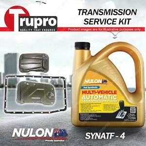 SYNATF Transmission Oil + Filter Service Kit for Mitsubishi Pajero NT NW NX V98W