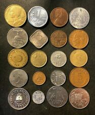 Coins of the World Lot - 20 Different Nations - FREE SHIP - Lot #M27A