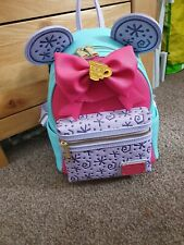 Disney Minnie Mouse Main Attraction March Tea Cups Loungefly Bag BNWT