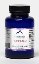 Vitamin A & D – with Omega Fatty Acids and Cod Liver Oil – 120 Softgel Caps