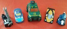 Lot of 5 Transformers Cybertron Overhaul, Armada Night Attack Scattor, Broadside