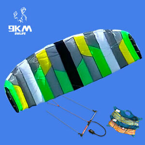 3m² 4 Line Trainer Power Kite Kitesurfing with Line and Bar Kiteboarding for Fun
