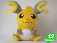 "12/"" Wow Pokemon Pikachu Plush Stuffed Doll Anime Video Game  PNDL0004"