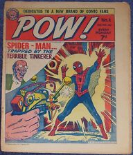 POW #4~MARVEL COMICS UK~SIGNED LARRY LIEBER~SPIDER-MAN #2~ODHAMS~NICK FURY
