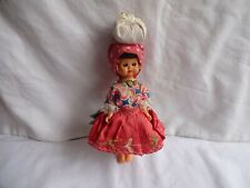 """VINTAGE Traditional Eastern European Doll with Lots of Petticoats, Height 8"""""""