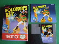 Nintendo NES SOLOMON'S KEY Complet PAL B EEC / FRA