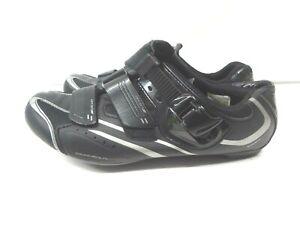 Shimano SPD-SL Road Cycling Shoes Style SH-WR42L Women's Size 8.5 Black Silver