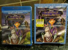 The Adventures of Ichabod and Mr.Toad(Blu-ray/DVD, 2014, 2-Disc Set, Digital HD)