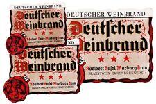 MARIBOR - Marburg /Drau A. Gusel WEINBRAND Etikett brandy label étiquette x1458
