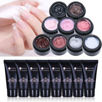 15/30ml Finger Quick Extension Gel UV LED Poly Nail Gel Polish Clear UR SUGAR