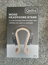 Qadira Wooden Headphone Stand (Walnut Finish)