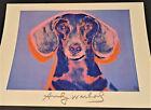 "Andy Warhol Foundation Art Print ""Portrait of Maurice"" Pop Art Dog Poster 1998"
