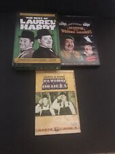 Laurel and Hardy Set of DVD The Best of 6 Discs Flying Deuces & March Soldiers