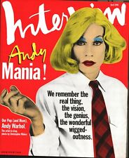 Interview - April 1996 - Andy Warhol, Drew Barrymore, Edward Norton, Jewell