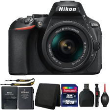 Nikon D5600 DSLR Camera with 18-55mm Lens and Accessory Bundle